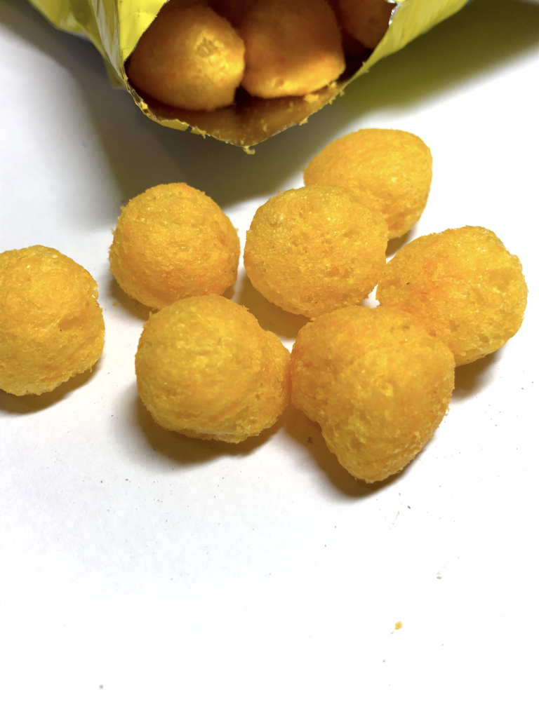 Indonesian Chiki Snack Balls Cheese Flavor