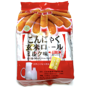 Konjac Brown Rice Roll Milk Flavor