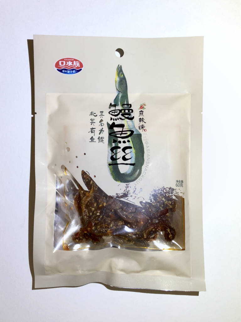 Unagi Eel Strip Jerky hot and spicy flavor chinese snack from chengdu china