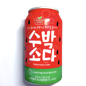Sangil Korean Watermelon Flavoured Soda Beverage Non Alcoholic