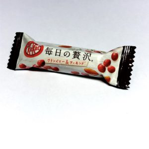 Japanese Kitkat Cranberry and Almond