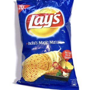 Blue Bag of Lay's India's Magic Masala